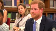 Prinz Harry im Einsatz für Aids-Betroffene