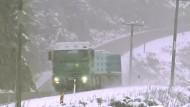 Winter hat Neuseeland im Griff