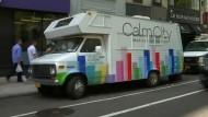 Meditationsmobil bietet Auszeit für gestresste New Yorker