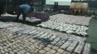 1500 Kilogramm Heroin beschlagnahmt