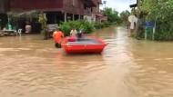 Mehr als 20 Tote bei Überschwemmungen in Thailand