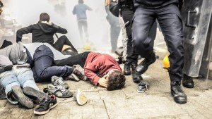Türkische Polizei setzt Tränengas ein