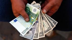 Die Führungsposition des Dollars ist unangefochten