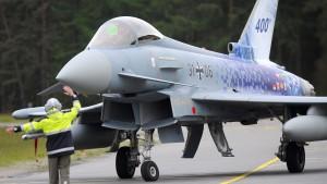 Eurofighter verliert Außentank