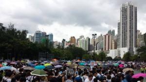 Weitere Festnahmen nach Protest für mehr Demokratie