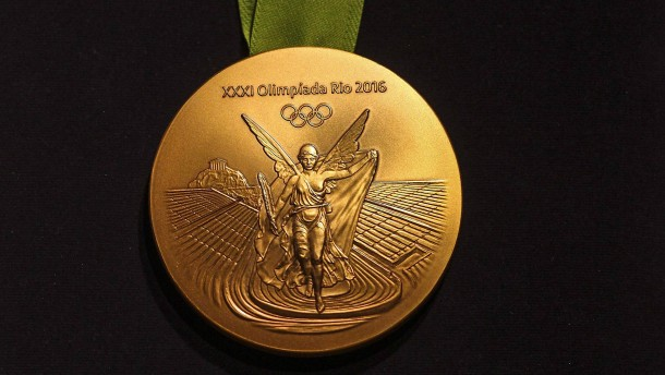 olympia goldmedaille wert