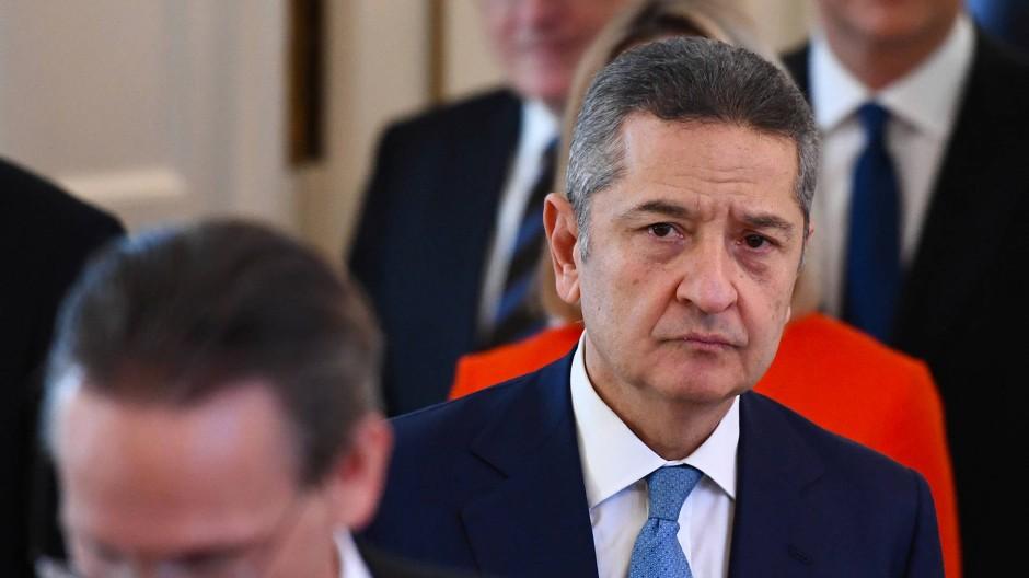 EZB-Direktor Fabio Panetta im Januar in Berlin