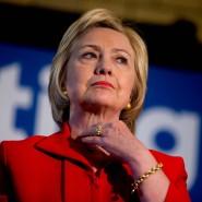Sie hätte nicht mehr viel zu lachen, falls es doch zur Anklage kommt: Hillary Clinton.
