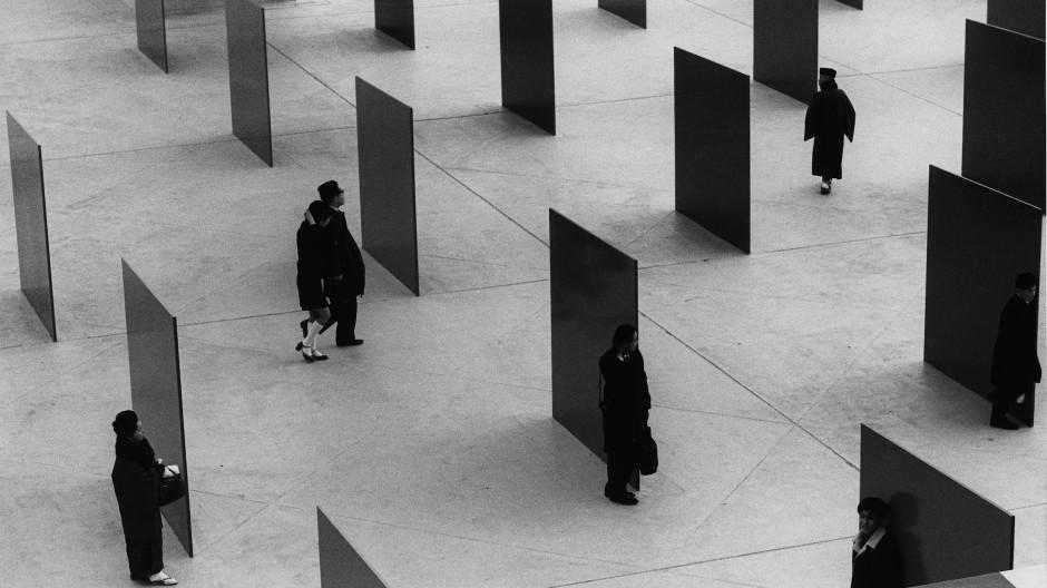 Foto aus Barbara Klemm. Skulpturen. Fotografie: Die Weltausstellung in Osaka 1970
