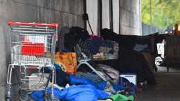 Viele Osteuropäer landen in Berlin auf der Straße