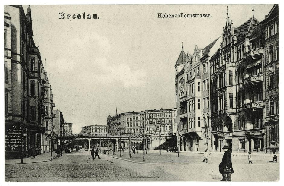 Breslau, heute Wroclaw (Polen), hatte 1929 eine der höchsten Arbeitslosenquote deutscher Großstädte (Foto um 1930).