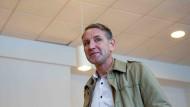 Auf dem Sprung in die Bundesspitze der AfD?: Der Thüringer Partei- und Fraktionsvorsitzende Björn Höcke am Sonntag nach der Abgabe seiner Stimme in Bornhagen