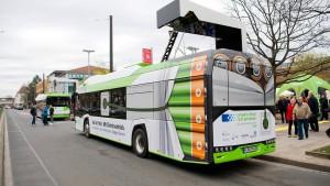 Wiesbaden setzt ganz auf Elektrobusse