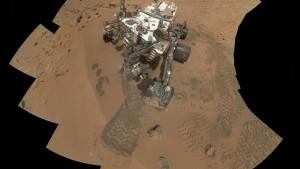Curiosity  findet organische Teilchen