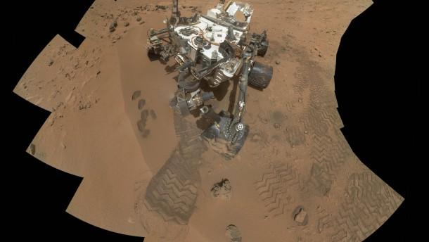 """""""Curiosity""""  findet organische Teilchen"""