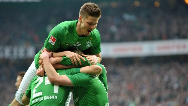 Werder verteidigt den Europapokalplatz