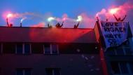 Linke Gewaltorgie erschüttert Berlin