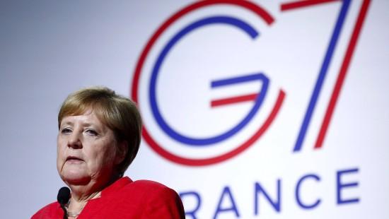 Auch Merkel wurde überrascht
