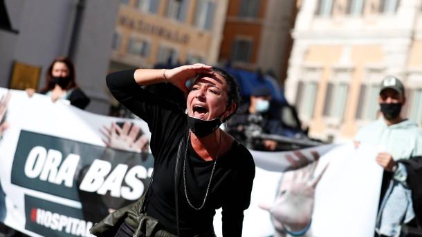 Italiens Lockdown, der nicht so heißen soll