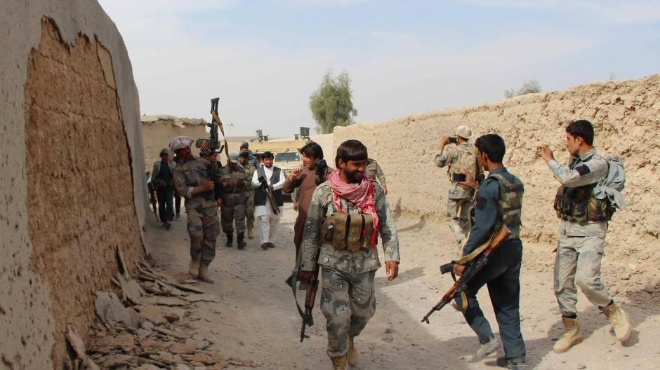 Gegen die Taliban: Vor allem die südliche Provinz Helmand ist stark umkämpft.