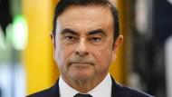 Der geschasste Nissan-Manager Carlos Ghosn im November auf einem Termin in Nordfrankreich