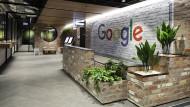 In einem Google-Büro in Melbourne.