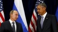 Putin und Obama finden keinen Kompromiss