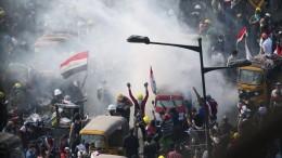 Eskalation bei Protesten im Irak