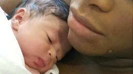 Serena Williams zeigt ihr Baby