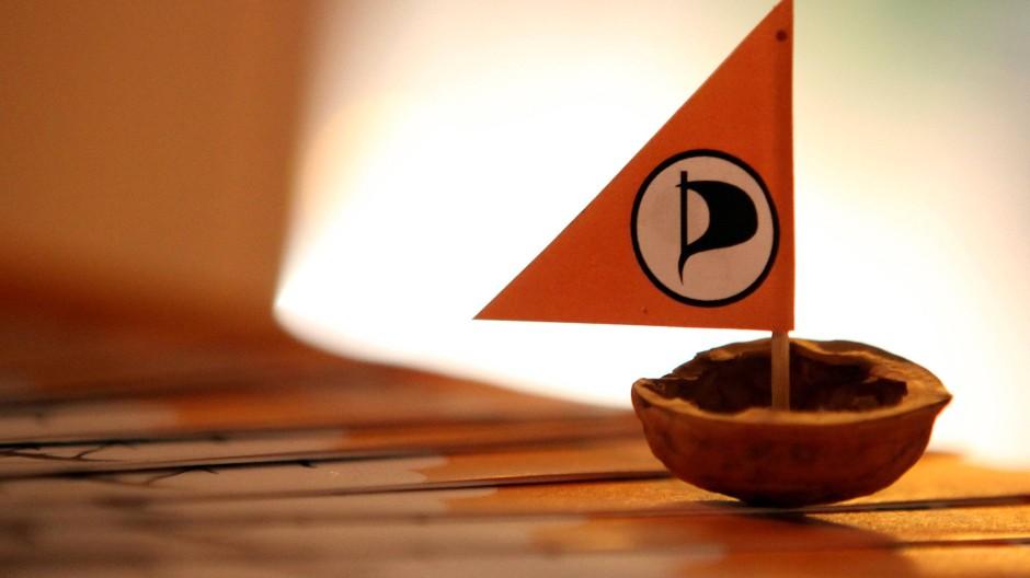 Die Flagge der Piratenpartei weht jetzt auch in Israel
