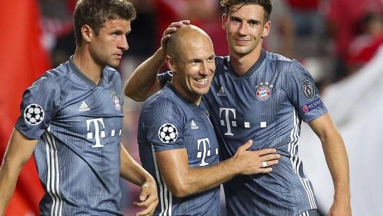 Bayern starten mit einem Sieg