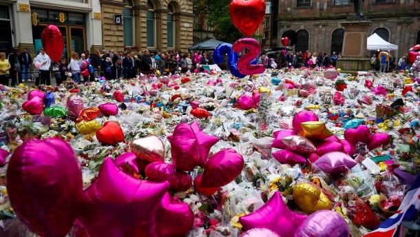 Trauer in Manchester
