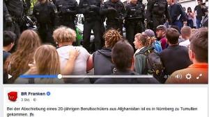Abschiebung löst Massenschlägerei an Nürnberger Schule aus