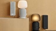 Symfoniskorchester: Ikeas Lautsprecher gibt es in zwei Farbvarianten.