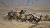 Der Transportpanzer Boxer im Einsatz in Afghanistan