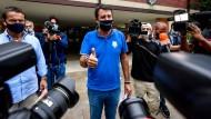 """Versuch gescheitert: Salvini konnte die """"rote Festung"""" nicht schleifen."""