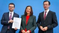 Corona-Plan: Das erste Gesetz der Ampel-Koalition