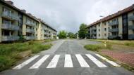 Amerikanisches Erbe: Nach dem Abzug der Army standen die Gebäude der Lincoln-Siedlung in Darmstadt lange leer. Erst im Mai 2015 begann der Umbau, inzwischen sind die ersten Mieter eingezogen.