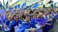 Ukrainer bejubeln Visumfreiheit