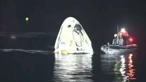 SpaceX-Kapsel mit vier Astronauten erfolgreich zur Erde zurückgekehrt