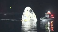 Rückkehr von der ISS: SpaceX-Kapsel mit vier Astronauten erfolgreich gelandet