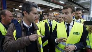 Macron, der Spaltpilz