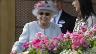 Queen Elisabeth II. am Mittwoch beim Pferderennen in Ascot.