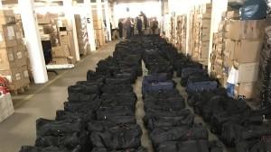 Mehrere Tonnen Kokain in Hamburger Hafen gefunden