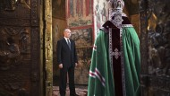 Bollwerk gegen den gottlosen Westen: Putin und Kirill im Mai in Moskau