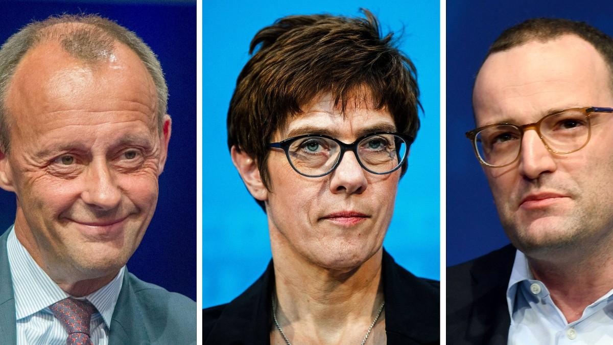 Das Duell um den CDU-Vorsitz