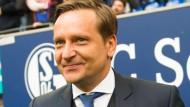 Horst Heldt ist bei der Eintracht aus dem Rennen