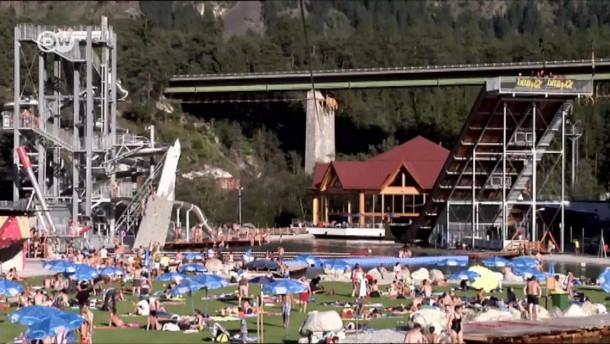 Europas größter Abenteuerspielplatz für Adrenalin-Junkies