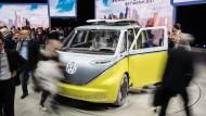 Die deutsche Autoindustrie ist auf dem Elektro-Trip