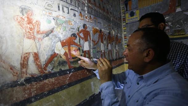 Ägypten: Archäologen entdecken mehr als 4000 Jahre alte Grabkammer